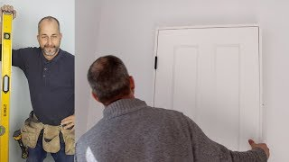How To Hang An Interior Door Quick and Easy