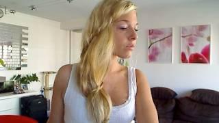 Tuto Coiffure #22 : La Torsade Romantique, pour Cheveux Longs - YouTube