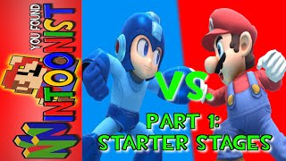 Mario Vs. Megaman Starter Stage Match-Up Analysis