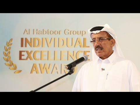 <span style='text-align:left;'>Al Habtoor Group, Founding Chairman Khalaf Ahmad Al Habtoor recognizes top talent across the Al Habtoor Group of companies at the annual Employee Excellence Awards ceremony hosted at the Al Andalus Ballroom, Habtoor Grand Resort, Autograph Collection on Tuesday 14 March 2017. The Employee Excellence Awards brings together all the company's units, including the Group's head office, Habtoor Hospitality, Al Habtoor Motors, Diamondlease and Emirates International Schools (Jumeirah and The Meadows).</span>