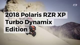 9. First Look at the 2018 Polaris RZR XP Turbo EPS Dynamix Edition