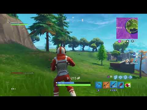 Fortnite Battle Royale - Win with 4hp!