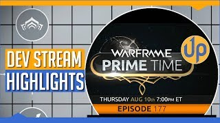 Warframe - This week, the developers of Warframe, Digital Extremes, invited me to appear on their weekly Dev Stream 'Prime Time'. Couldn't believe it when they asked me!Here are the highlights, as well as the highlights for the stream I did after. I'm doing Chains of Harrow 12 hours after this vid is live! Come say hi on Twitch :)Be sure to follow me on Twitch for more streams: https://www.twitch.tv/skill_up_ggIf you want to sign up to Warframe, you can get some free stuff by using this referral code: https://www.warframe.com/signup?referrerId=586a5e3e3ade7f27084d4066Australians use offer code 'Skillup' to get 5% off Astro, Scuf and Nacon gear at https://bluemouthdirect.com/ --Check out this week's videos:Please Stop Sending Me Free Stuffhttps://www.youtube.com/watch?v=_5xeUV6tGdkThe War Within Reaction Highlightshttps://youtu.be/T_g91mCL37wSecond Dream Reaction Highlightshttps://youtu.be/2xwPx8DjIkgThis Community is Amazing!https://youtu.be/8FCN8ZyBDoMMy Warframe Review (2017)https://youtu.be/0vuJitrbTFYActual, new stuff coming to Destiny 2:https://youtu.be/k3n2lcf1_KIDestiny 2 and The Division have this one problem in common:https://youtu.be/OfI3Gy-At4QDestiny 2 Starter's Guide:https://youtu.be/Haitiz2d0ngThe Destiny 2 Social Space Revealed:https://www.youtube.com/watch?v=Cmb4wFNUnXcDon't forget to like and subscribe  :)====Follow me on Twitter: @skillupYTCheck out Skill-Up on Facebook over at www.facebook.com/skillupgg Follow me on Twitch over at: https://www.twitch.tv/skill_up_gg If you'd like to Donate to show support, you can do so at: https://strexm.tv/user/skill_up_gg