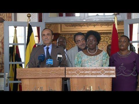 رئيس مجلس النواب ورئيسة برلمان أوغندا يؤكدان على أهمية تعزيز العلاقات الثنائية