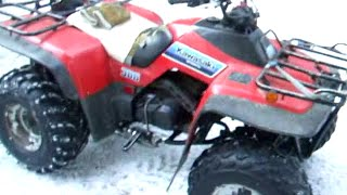 8. Kawasaki Bayou KLF-300 ATV - Easy Starter Motor Removal & Install (1986 thru 2004 2x4 and 4x4)