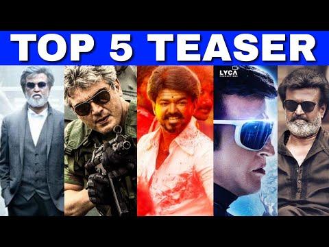 Video TOP 5 Teasers of Kollywood | 2.0, Vivegam, Mersal | Thalapathy Vijay, Rajnikanth download in MP3, 3GP, MP4, WEBM, AVI, FLV January 2017
