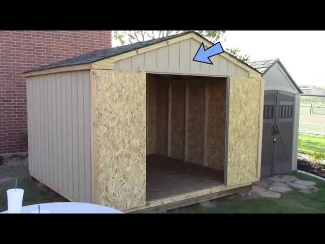 Building a pre cut wood shed what to exp Pre cut homes