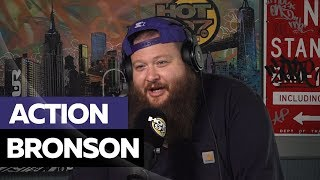 Hot 97 - Action Bronson On Running From Bears, Feeding Sade & Opens Up On Prodigy