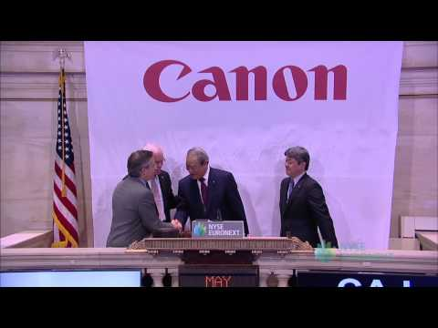 Canon (company) - On Monday, May 13 executives of Canon U.S.A., Inc. (NYSE: CAJ), a leader in digital imaging solutions, will visit the New York Stock Exchange (NYSE) to celeb...