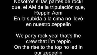 LMFAO-Party Rock Anthem letra en español y en ingles