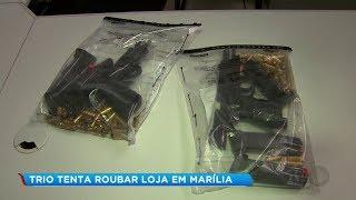 Criminoso morre em troca de tiros com a polícia durante tentativa de roubo em Marília