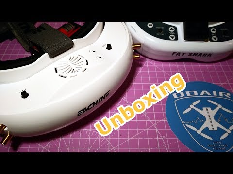 Eachine EV200D from Banggood - unboxing deutsch