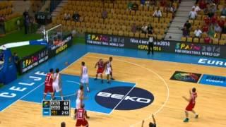 Highlights Croatia-Georgia EuroBasket 2013