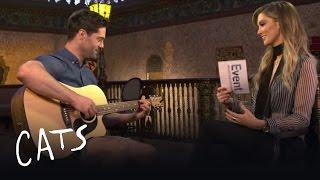 CATS: Delta Goodrem & Matt McFarlane on FOXTEL's Arts Segement