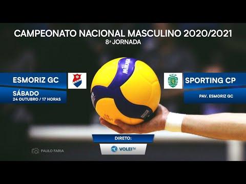 Esmoriz GC vs Sporting CP - CAMPEONATO NACIONAL 20...
