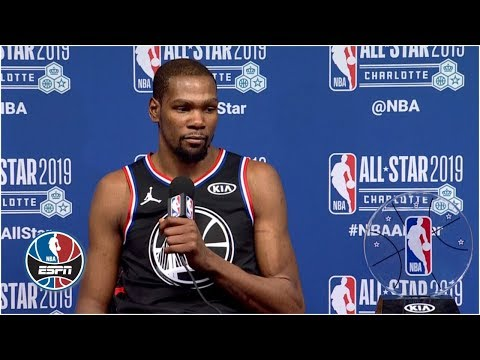 Video: Kevin Durant will keep trying to rack up accolades after All-Star Game MVP | NBA All-Star 2019