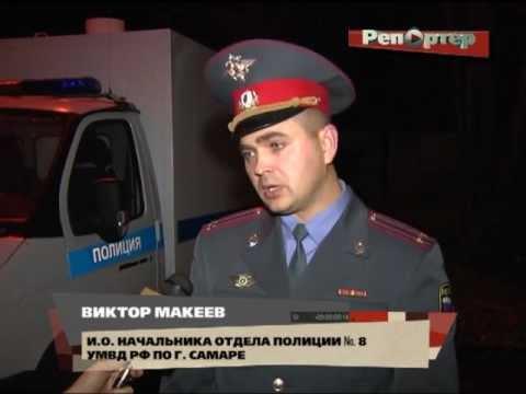 Полицейский применил табельное оружие против напавшего на него дебошира (видео)