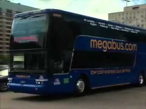 Mega Bus Express Bus Service Across USA
