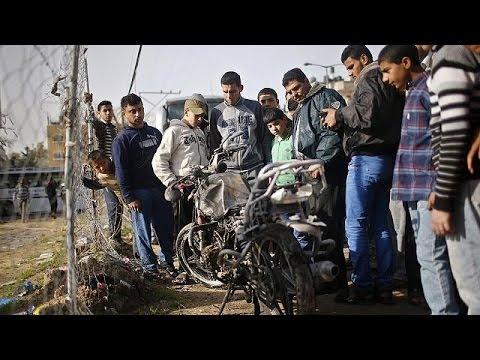 Raid aérien israélien dans la bande de Gaza