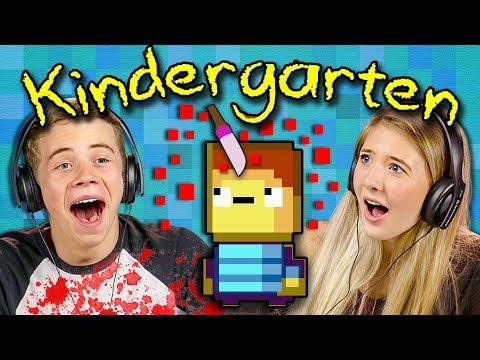 BLOOD ON THE PLAYGROUND?! | Kindergarten (Teens React: Gaming)
