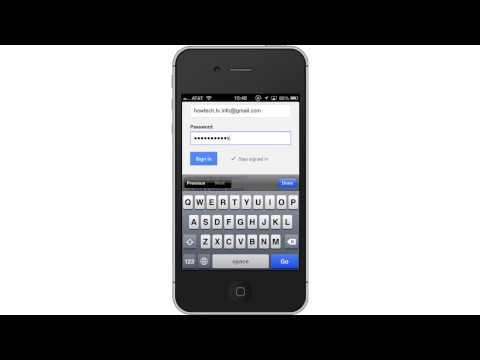 how to sync google calendar w iphone