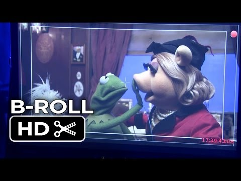 Muppets Most Wanted Complete B-Roll