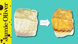 How To Get Crispy Fish Skin | 1 Minute Tips | Bart's Fish Tales by Jamie Oliver