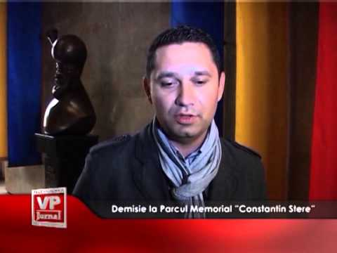 "Demisie la Parcul Memorial ""Constantin Stere"""