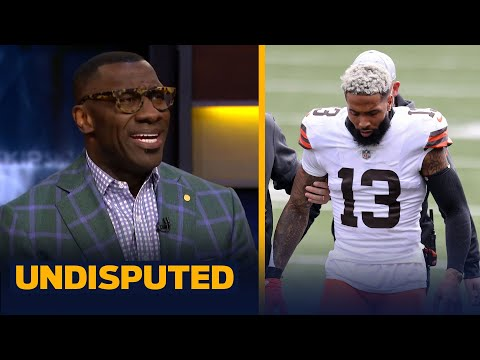 Skip & Shannon react to Odell Beckham Jr's season-ending injury against Bengals | NFL | UNDISPUTED