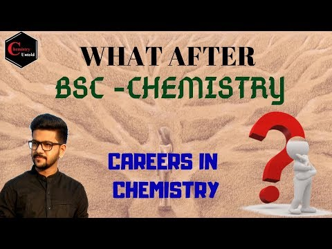 WHAT after BSc-Chemistry - 01 || CAREERS IN CHEMISTRY