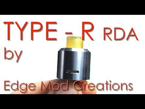 Type R (rda) by Edge Mod Creations (видео)