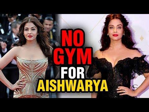 SHOCKING Aishwarya Rai's NO GYM Clause, Reveals Ab