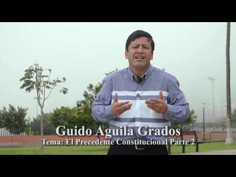 Programa 04 - El Precedente Constitucional (II) - Tribuna Constitucional