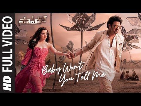 Saaho : Baby Won't You Tell Me Full Video   Prabhas, Shraddha K   Shweta M, Siddharth M, Shankar M