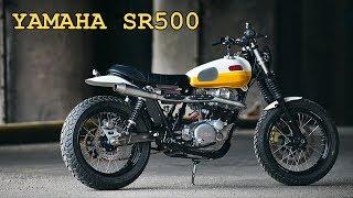 4. YAMAHA SR500 SCRAMBLER