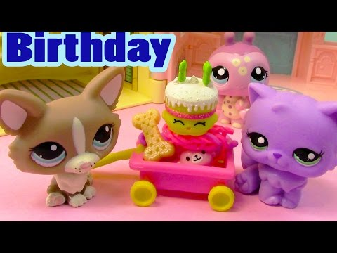 pet - SUBSCRIBE: http://www.youtube.com/channel/UCelMeixAOTs2OQAAi9wU8-g?sub_confirmation=1 LPS run into a Birthday Cake Shopkins. Disney Frozen Kristoff helps open Shopkins surprise 5 pack. https://ww...