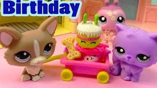 LPS Shopkins It's My Birthday Littlest Pet Shop Annoying Happy Cake