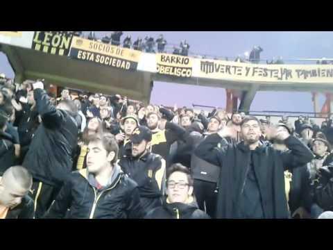 Recibimiento Hinchada de Peñarol - Barra Amsterdam - Peñarol