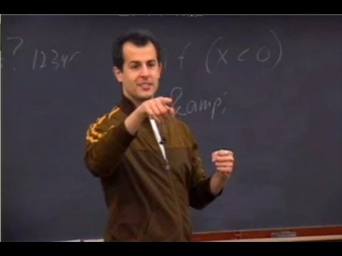 lecture - For Latest Lecture video (updated): http://www.youtube.com/watch?v=fJ7ULOFBBTM Building dynamic websites. Lecture video of Harvard extension School. Computer...