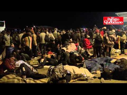 migranti, migliaia al confine austriaco: la situazione è davvero grave!