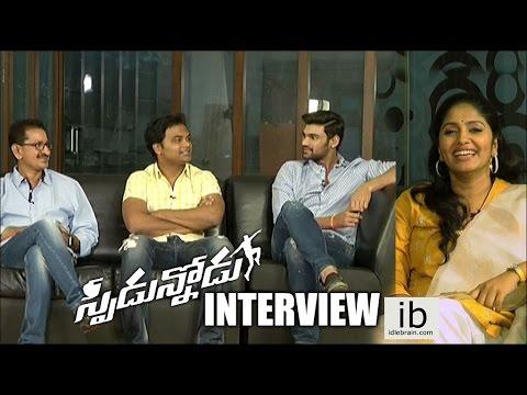 Speedunnodu Team Interview about Movie Success
