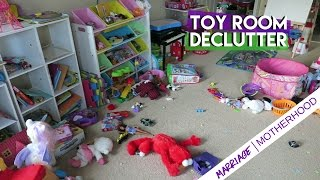 Toy Room Declutter - I donated 40% of my kids toys