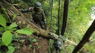 GARUDA - Satgas Pamtas Indonesia Papua Nugini Yonif Para Raider 501Bajra Yudha