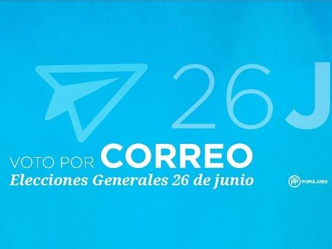 Voto por Correo Elecciones 26-J