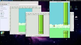 Create Flappy Bird in Python [Time Lapse]