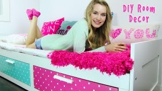 Video DIY Room Decor! 10 DIY Room Decorating Ideas for Teenagers (DIY Wall Decor, Pillows, etc.) MP3, 3GP, MP4, WEBM, AVI, FLV September 2018
