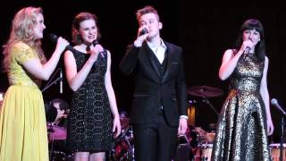 In Stiller Nacht - The Von Trapps With Pink Martini, Lexington, KY February 28, 2014