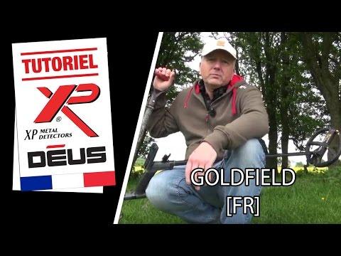 Détecteur de métaux XP DEUS : mode Gold field [FR]