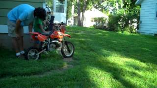 7. 2006 KTM 50 SX Senior - FOR SALE