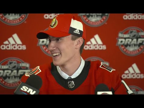 Video: Formenton: Can't put words to it, mind-blowing being drafted by Senators